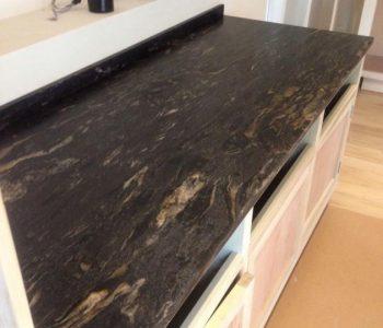 Cosmic Black Granite Worktop - Lavant