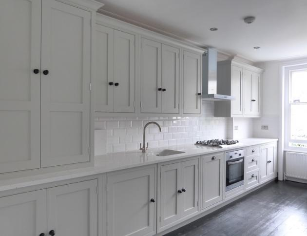 Carrara Quartz Worktop- Balham