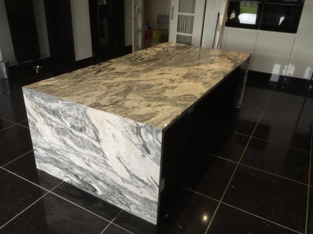 Cosmic White Granite Worktop Handcross County Stone