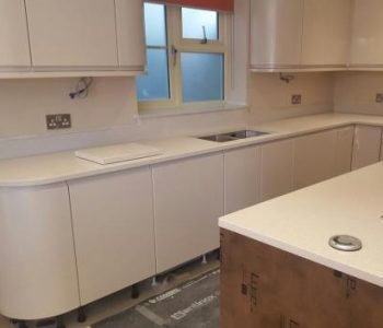Silestone Blanco City Worktop - Stubbington