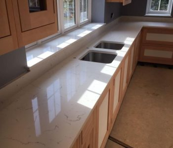 Carrara Quartz Worktop - Walberton
