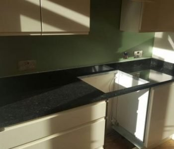 Angolan Black Granite Worktop - Portslade