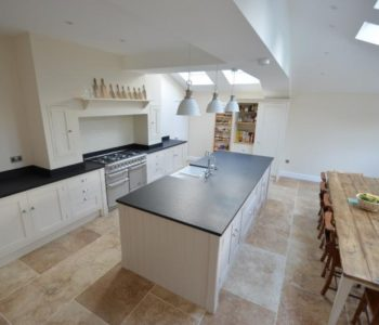 Surrey-style granite worktop on kitchen island