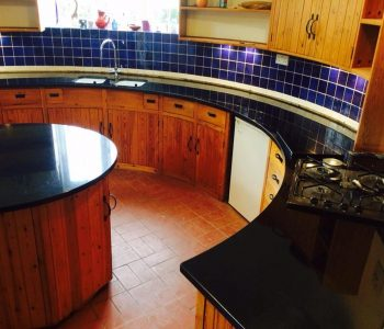 Indian Black Granite kitchen worktop - Kent