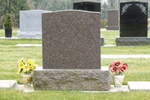 Granite headstones memorials