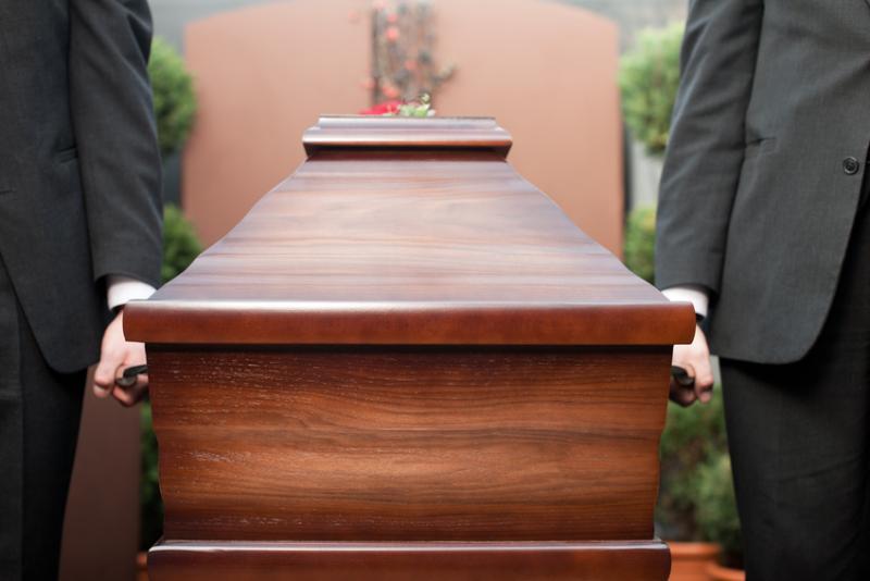 Funeral personalisation - pallbearers