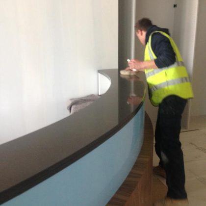 quartz countertop being installed 2.630.840.s