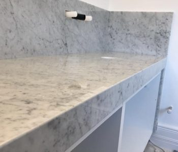 Installation of granite bathroom worktops in Aldwick