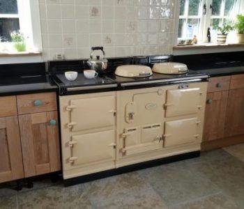 Finished installation of Indian Black Granite Kitchen Worktops in Bognor Regis