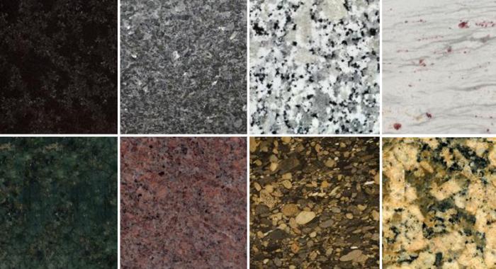 Browse colour granite