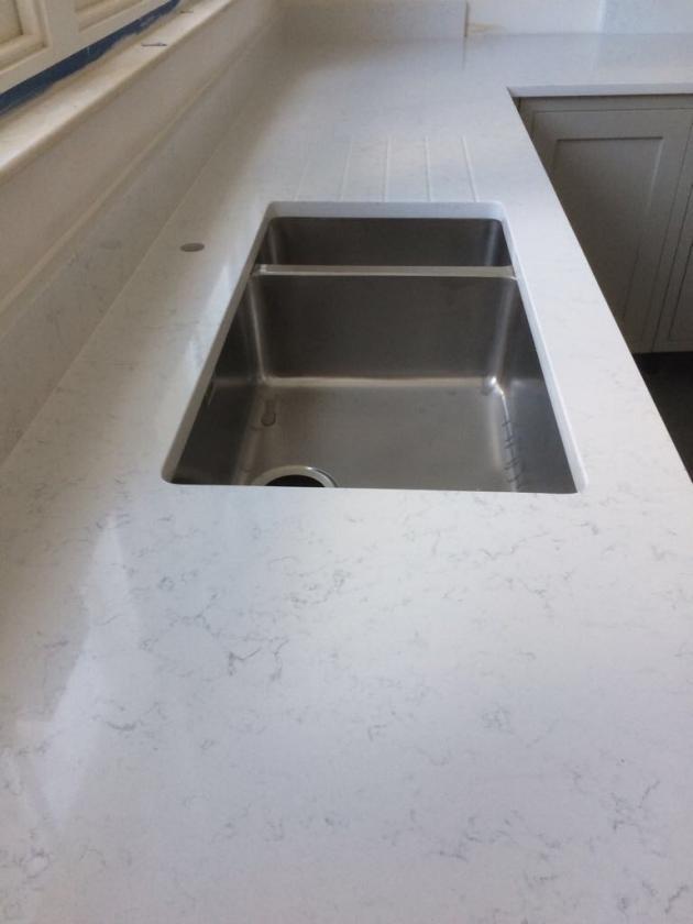 Carrara White Quartz London