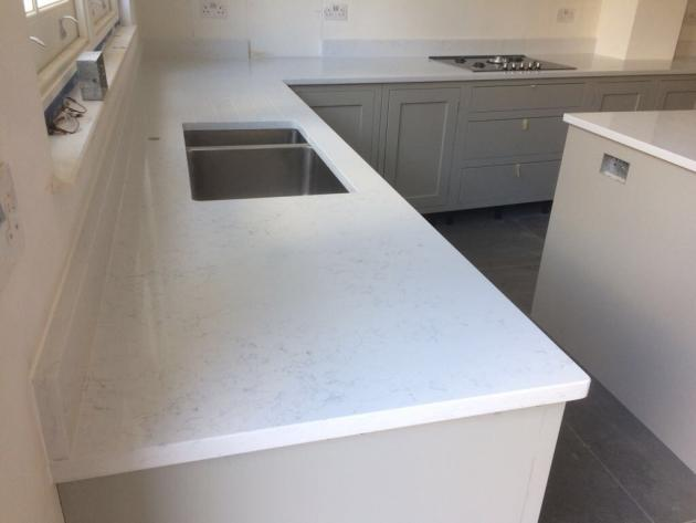Carrara White Quartz London