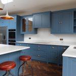 Carrara Light Classic Quartz kitchen worktop