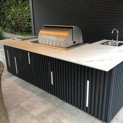 Aura 15 Dekton kitchen worktop