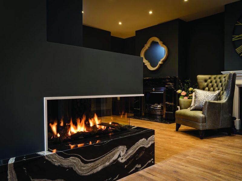 Bespoke Stone Fireplace