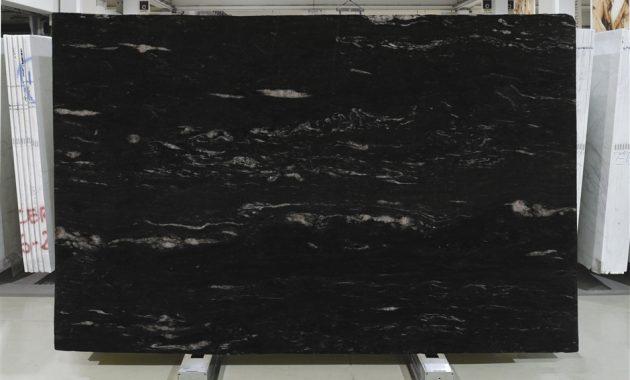 Black Granite Kitchen Worktop in Cosmic Black