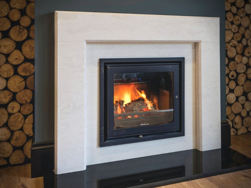 Bosham Modern Fireplace