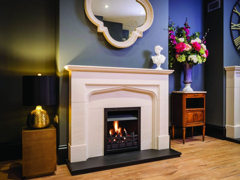 Goodwood Traditional Stone Fireplace