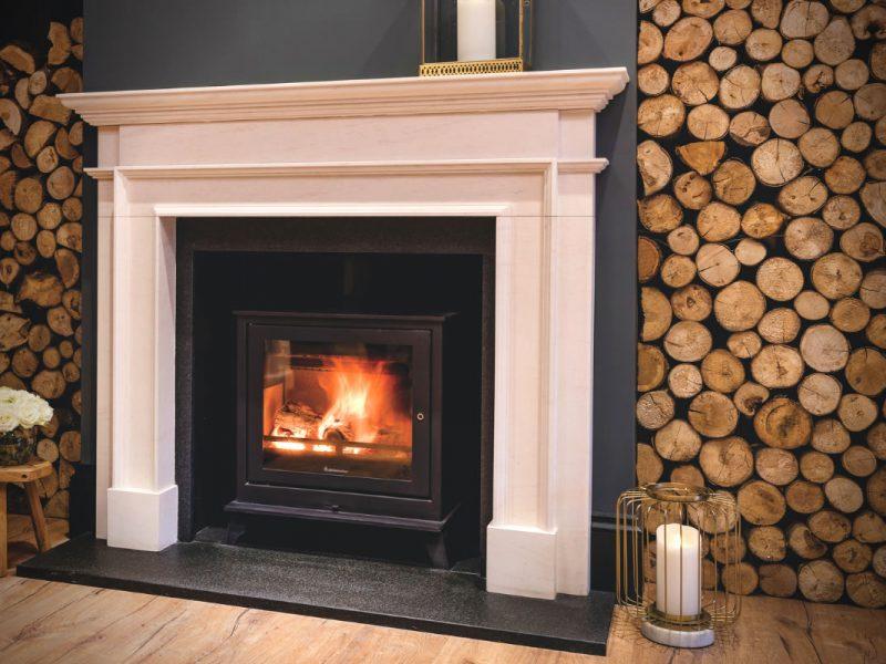 Petworth Traditional Limestone Fireplace Surround