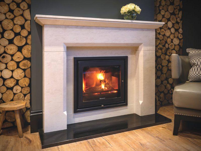 Thakeham Limestone Fireplace